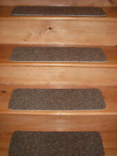 15 Step Indoor Stair Treads Staircase Step Rug Carpet  8'' x 24''  V-7.