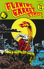 FLAMING CARROT COMICS NUMBER 14 OCT 1986 BOB BURDEN