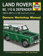 Land Rover Defender Repair Manual Haynes Manual Workshop Manual 1983-2007 3017