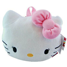 Hello Kitty Head Face Plush Backpack Pillow Bag Toy Kids Girls 3+ by Sanrio NEW