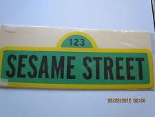 SESAME  STREET SIGN~~TITLE~~~SCRAPBOOKING~~CARDS~~~~~CRICUT DIE CUT~~~WORLDWIDE