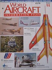 World Aircraft Information Files No 91 Mikoyan-Gurevich Mig-19 cutaway & poster