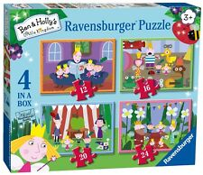 NEW! Ravensburger Ben & Hollys Little Kingdom 4 in a box jigsaw puzzle Age 3+