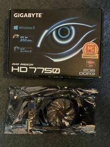 Gigabyte AMD Radeon HD7750 2GB HDMI DVI VGA