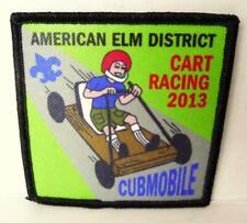 American Elm District Cart Racing 2013 CubMobile Patch Cub Scouts BSA