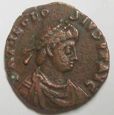 THÉODOSE Ier (379-395) Maiorina pecunia - GLORIA ROMANORVM - Alexandrie