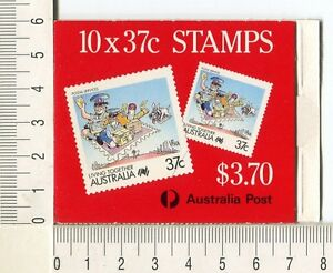 41177) Australia 1988 MNH QEII Cartoons 37c (x10) Scott# 1063a Leigh-Mardon