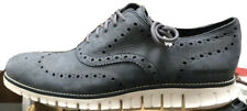 Cole Haan Zerogrand Wingtip Oxford Shoe Ombre Blue Leather New Men's 10 - C30323