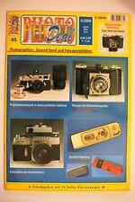 PHOTO DEAL 45 Leica Retina Stasi Nettel Kodak Konica Fälschung Exakta Contax