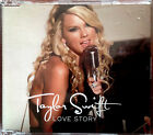 TAYLOR SWIFT RARE Love Story AUSTRALIAN CD Single 3 Track and Video