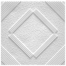 1 Qm Pannelli per Soffitto di Polistirolo Decorativi Eps Deckenfliesen 50x50