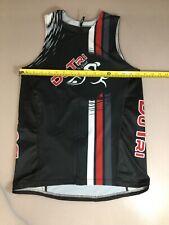 Mt Borah Mens Size Xl X Large Tri Triathlon Top Jersey (6910-5)