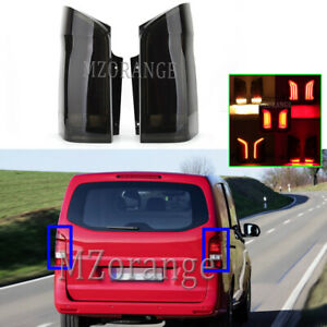 Smoked LED Dynamic Rear Tail Light Lamp For Mercedes Benz Vito W447 08/2015-2018