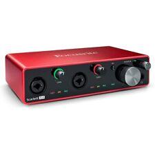 FOCUSRITE SCARLETT 4i4 3rd Gen interfaccia scheda audio per musicisti produttori