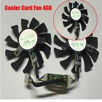 Kühllüfter 4GB Grafikkarte Lüfter Cooling Fan Ersatz für ZOTAC GeForce GTX 970