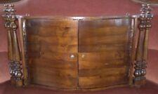 Pensile mensola in legno di noce cm 52x90x16  - Antikidea
