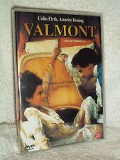 Valmont [2002] (DVD, 2019) NEW Colin Firth Annette Bening Meg Tilly Fairuza Balk