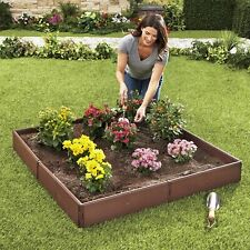 Raised Garden Bed Set for Vegetable and Flower Gardening