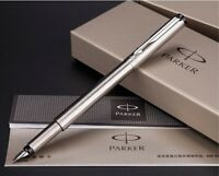Parker Calligraphy Vector Stainless Color Fountain Pen 0.5mm Fine Nib Pen