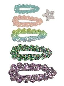 Scalloped Snap Clip Covers plastic templates 5 sizes hair bows diy 5 6 7 8 9 cm