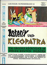 GROSSER ASTERIX BAND II von 1971 Asterix und Kleopatra - Z1-2 COMIC-ALBUM