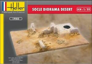 HEL81255 - Heller 1:35 - Socle Diorama Desert Base