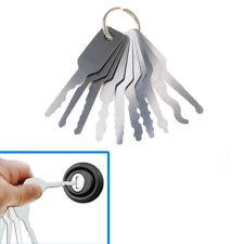 10Pcs Stainless Steel Keys Car Door Opener Unlocking Repairing Tools Kit S1