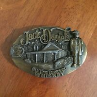 Jack Daniels Old Time Tennessee Whiskey 1989 by Arroyo Grande Belt Buckle