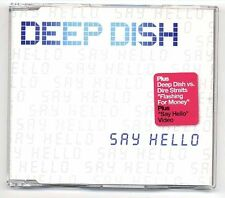 Deep Dish vs. Dire Straits Maxi-CD Flashing For Money - Say Hello 8-track CD EP
