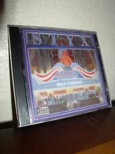 Paradise Theater - Gala Premier -  by STYX (CD,A&M, 1980, NEW)