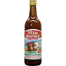 VITAGARTEN Kinder Mehrfrucht Saft 750 ml