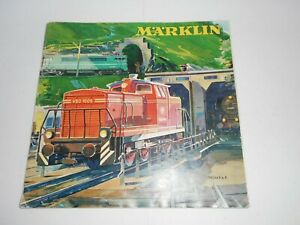 Marklin 1963/1964 Product catalogue in English. Good overall condition. 60p
