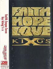 KING'S X FAITH HOPE LOVE CASSETTE ALBUM PROGRESSIVE METAL HEAVY METAL FUNK METAL