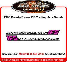 1993 Polaris Storm IFS Reproduction Trailing Arm Decals