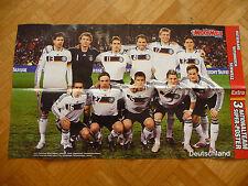 3 Nationalteam Poster Bundesliga Fußbal Deutschland Osterreich Schweiz