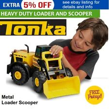 TONKA Front Loader Construction Truck Scooper Metal Kids Sandpit Vehicle Toy NEW