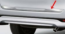 TOYOTA INNOVA CRYSTA 2015 GENUINE ACCESSORIES CHROME TAILGATE STEP GUARD