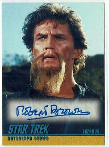 Star Trek TOS Original Series Season 1 Autograph Card A9 Robert Brown as Lazarus