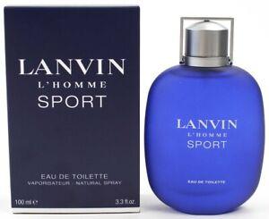 Lanvin L'Homme Sport For Men Cologne Eau de Toilette 3.3 oz ~ 100 ml EDT Spray