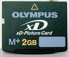 Olympus 2GB type M+ XD card.