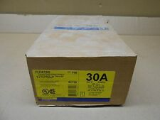 1 NIB SQUARE D HU361SS STAINLESS SAFETY SWITCH 316SS 30A AMP TYPE 4X SEALED BOX