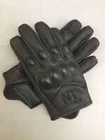 ladies short model gloves ladies motorbike / motorcycle summer leather gloves