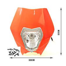 ORANGE Rec Reg Head Tail Light Lamp for Honda Yamaha KTM Dirt Pit Trail Bike