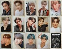 Kpop SuperM 1st Mini Album Fan Made All Photocard Postcard BAEKHYUN TAEMIN TEN