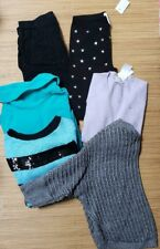 Girls Size 14 6pc Lot Sweaters Joggers Leggings Justice J Crew Old Navy
