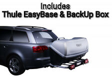 Thule EasyBase & BackUp Cargo Box 420l Tow Bar Ball Mounted Storage