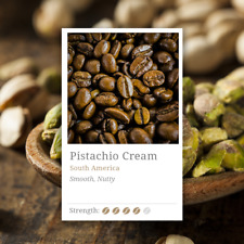 Pistachio Cream Coffee Beans- A Pistachio Flavour with Smooth Taste of Cream