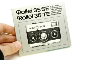 """Rollei 35 Se Devices """" IN The Practice Use Manual Instructions"""