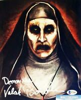 BONNIE AARONS SIGNED 8x10 METALLIC PHOTO THE NUN BECKETT BAS COA 607