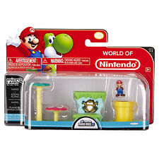 Nintendo Super Mario Bros U Micro Land Mario Acorn Plains 3 Piece Pack-SPECIAL